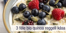 bio quinoa reggeli kása