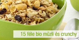 bio müzli és crunchy