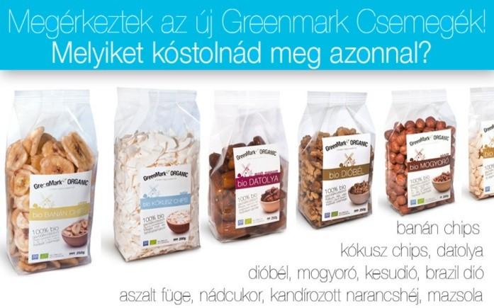 GreenMark Organic új csemegék