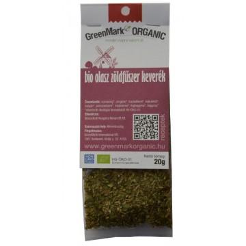 bio Olasz zöldfűszer keverék, 20g