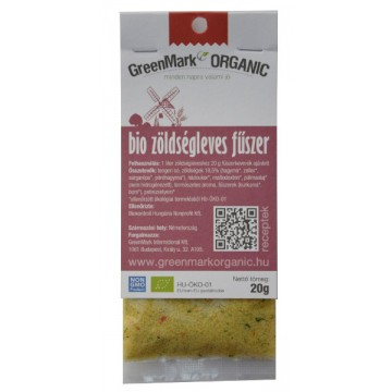 bio Zöldségleves fűszer, élesztőkivonat nélkül, 20g