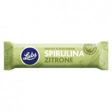 LUBS FRUIT&MORE bio szelet (spirulina-citrom) 40 g - gluténmentes
