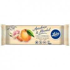 LUBS bio gyümölcsszelet (sárgabarack-mandula) 40 g - gluténmentes