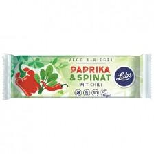 LUBS VEGGIE bio szelet (paprika-spenót) 30 g - gluténmentes