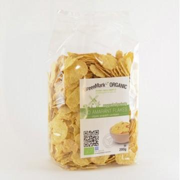 Bio Amaránt flakes, reggelizőpehely, 200g