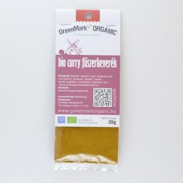bio Curry fűszerkeverék, 20g