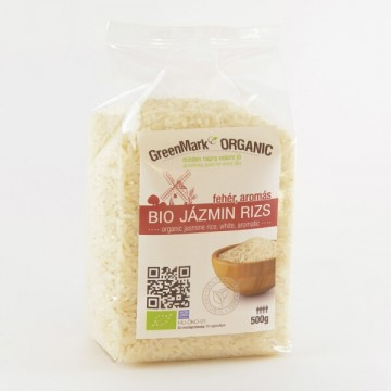 Bio Jázmin rizs, fehér 500g