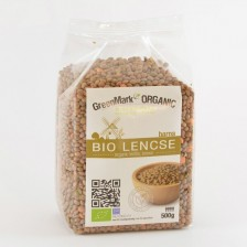 Bio Lencse, barna, 500g