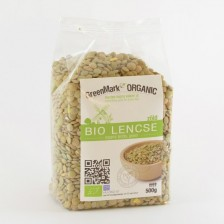 Bio Lencse, zöld, 500g