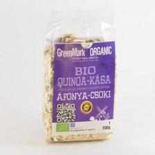 bio Quinoa kása, áfonya-csokoládé 100g