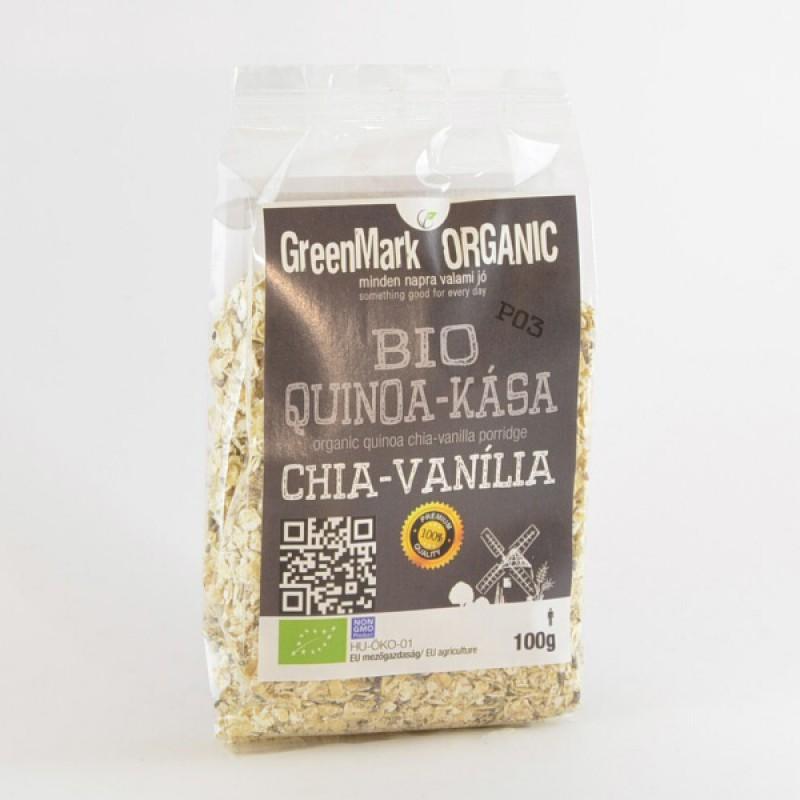bio Quinoa kása, chia-vanília 100g