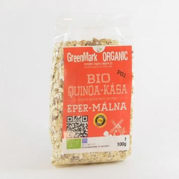 bio Quinoa kása, eper-málna-földimandula 100g