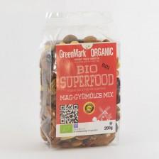 bio Superfood mix, magok-gyümölcsök 200g