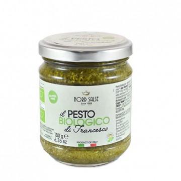 BIO NordSalse Francesco's Pesto, gluténmentes 180g