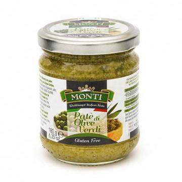 NordSalse MONTI Zöld Olivás Paté, gluténmentes 180g