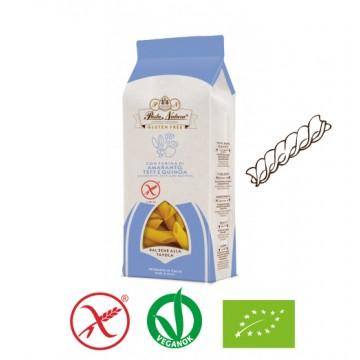 Bio Pasta Natura Amaránt, teff, quinoa tészta  - fusilli 250g - gluténmentes
