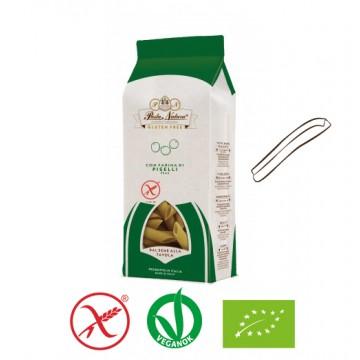 Bio Pasta Natura Zöldborsó tészta - casareccia 250g - gluténmentes