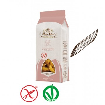 Pasta Natura Kukorica-rizs tészta - penne 250g - gluténmentes