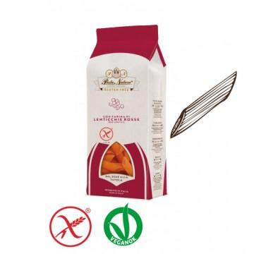 Pasta Natura Vöröslencse tészta - penne 250g - gluténmentes