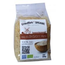 bio Előfőzött rizs, hosszúszemű, 500g